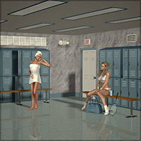 The Locker Room 3D Models Richabri