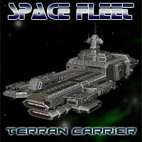 Space Ship Terran Carrier Props/Scenes/Architecture Themed Simon-3D