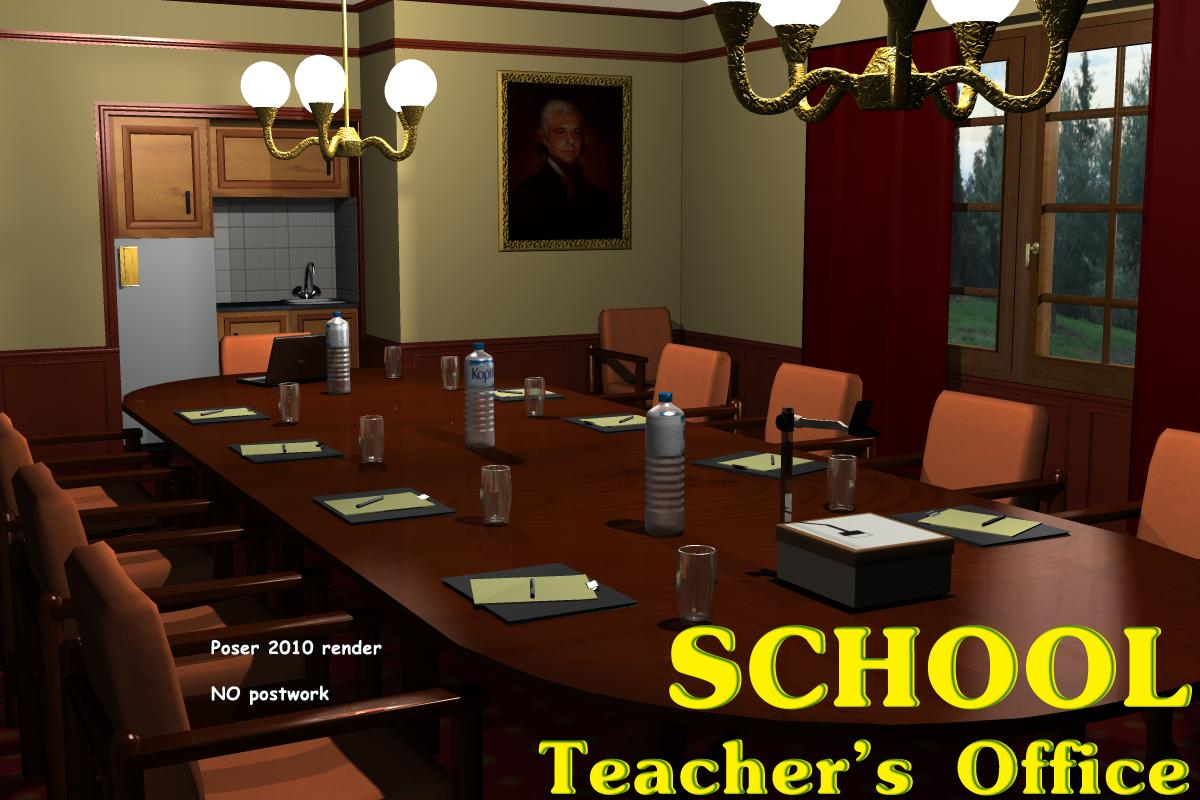School Teacher's office