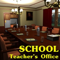 School Teacher's office 3D Models greenpots