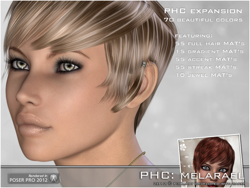 PHC: Melarael Hair