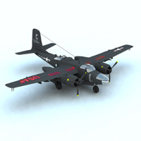 A/B 26C Invader (for Vue)  Digimation_ModelBank