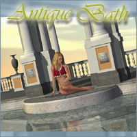 Antique Bath 3D Models 3D Figure Essentials darkvisionary