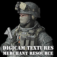 Authentic Digital Camouflage Textures 3D Models 2D Graphics coflek-gnorg