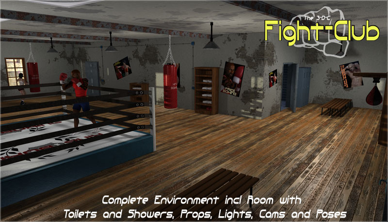 Fightclub by 3-D-C