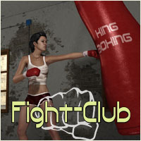 Fightclub by 3-D-C 3D Models 3D Figure Assets 3-d-c