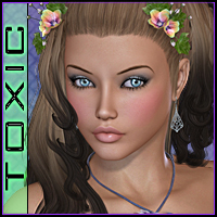 ToXic Caliana Hair Silver