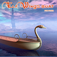Elf Wings boat 3D Models 1971s