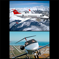 Twin engine private jet 85 image 1