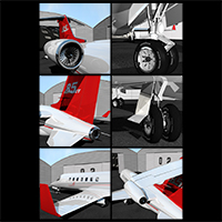Twin engine private jet 85 image 2