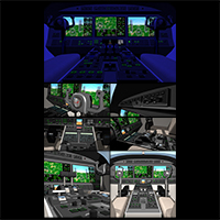 Twin engine private jet 85 image 4