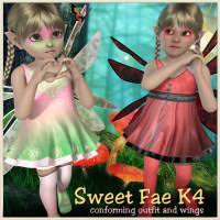 K4 Sweet Fae 3D Figure Essentials 3DTubeMagic