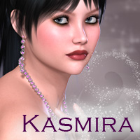 Kasmira for V4 3D Figure Essentials PandyGirl