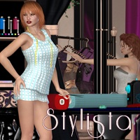 Stylista Props/Scenes/Architecture Stand Alone Figures Themed nirvy