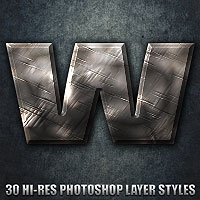 War - Photoshop Styles 2D 3D Models designfera