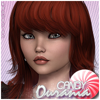 Candy Ourania 3D Figure Essentials Sveva