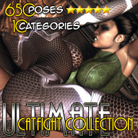 Ultimate Catfight Collection - Part 2 Poses/Expressions Themed Darkworld