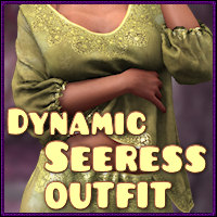 Dynamic Seeress outfit 3D Models 3D Figure Essentials WhimsySmiles