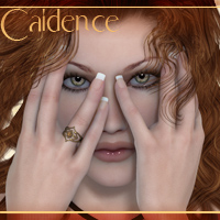 Caidence for V4 3D Models 3D Figure Essentials -dragonfly3d-