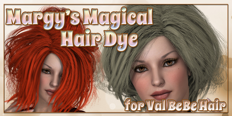 Margy's Magical Hair Dye for Val BeBe Hair