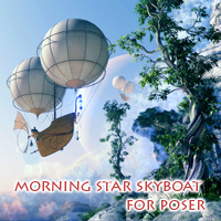 Morning Star Skyboat Transportation Themed 1971s