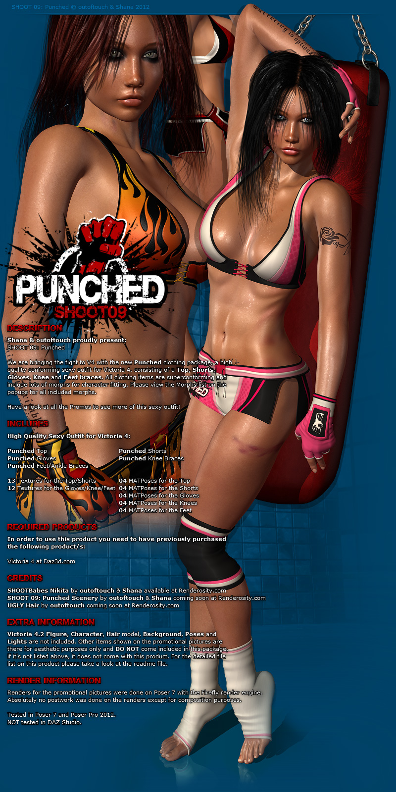 SHOOT 09: Punched