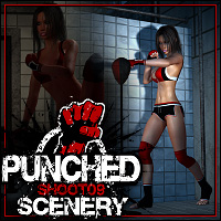 SHOOT 09: Punched Scenery 3D Models 3D Figure Assets ShanasSoulmate