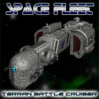 Space Ship Terran Battle Cruiser Themed Props/Scenes/Architecture Simon-3D