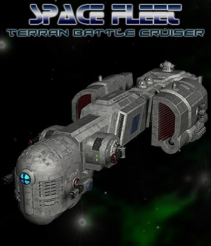 Space Ship Terran Battle Cruiser 3D Models Simon-3D