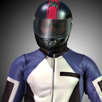 M4 Dynamic Moto Suit 3D Figure Essentials cocco