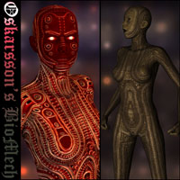 Oskarssons BioMech 3D Figure Essentials 3D Models Oskarsson
