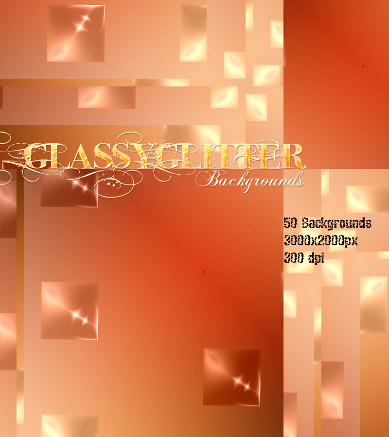 GLASSYGLITTER Backgrounds