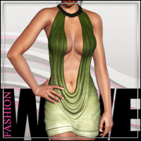 FASHIONWAVE Mojito for V4 A4 G4 3D Figure Assets 3D Models outoftouch