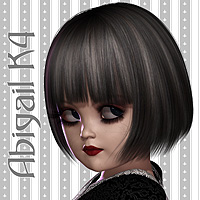 Abigail Doll K4 3D Figure Essentials 3D Models Amaranth