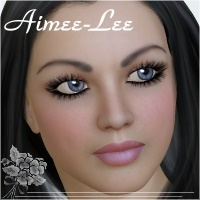 Aimee-Lee for V4.2 3D Figure Essentials chrislenn