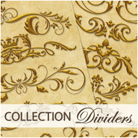 Collection Dividers 2D Graphics Atenais