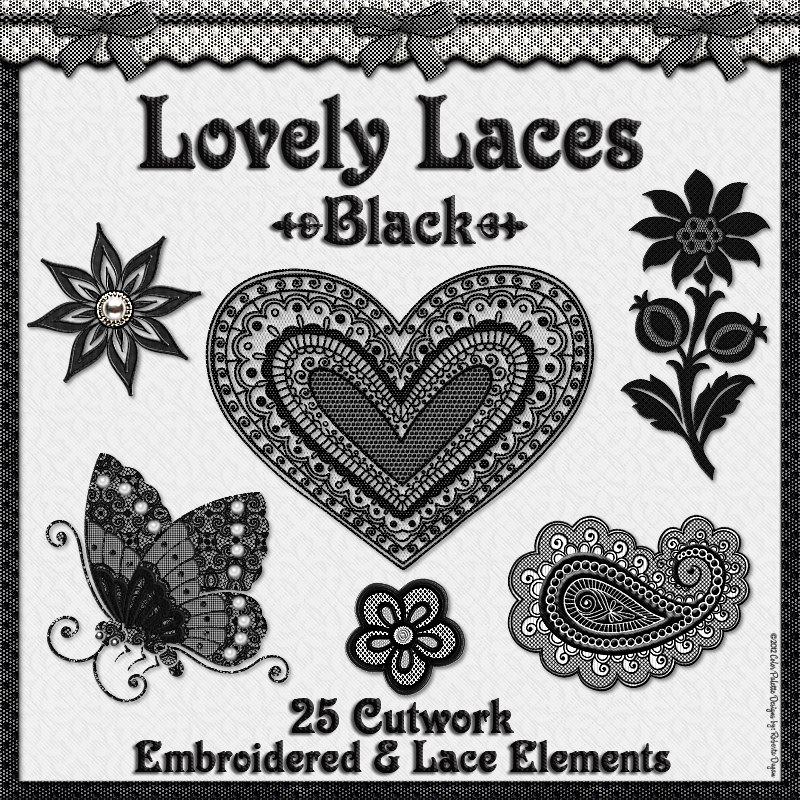 Lovely Laces: Black Lace Elements