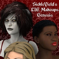 SickleYield's LIE Makeup Presets Genesis 2D Graphics SickleYield