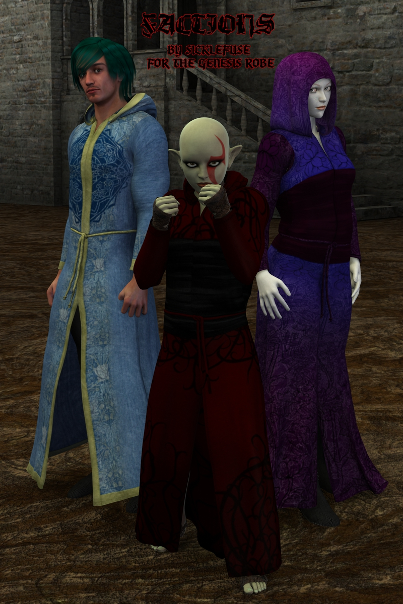 Factions for the Sickle Robe Genesis