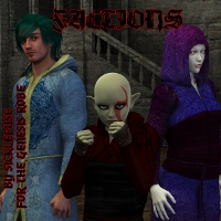 Factions for the Sickle Robe Genesis 3D Figure Essentials fuseling
