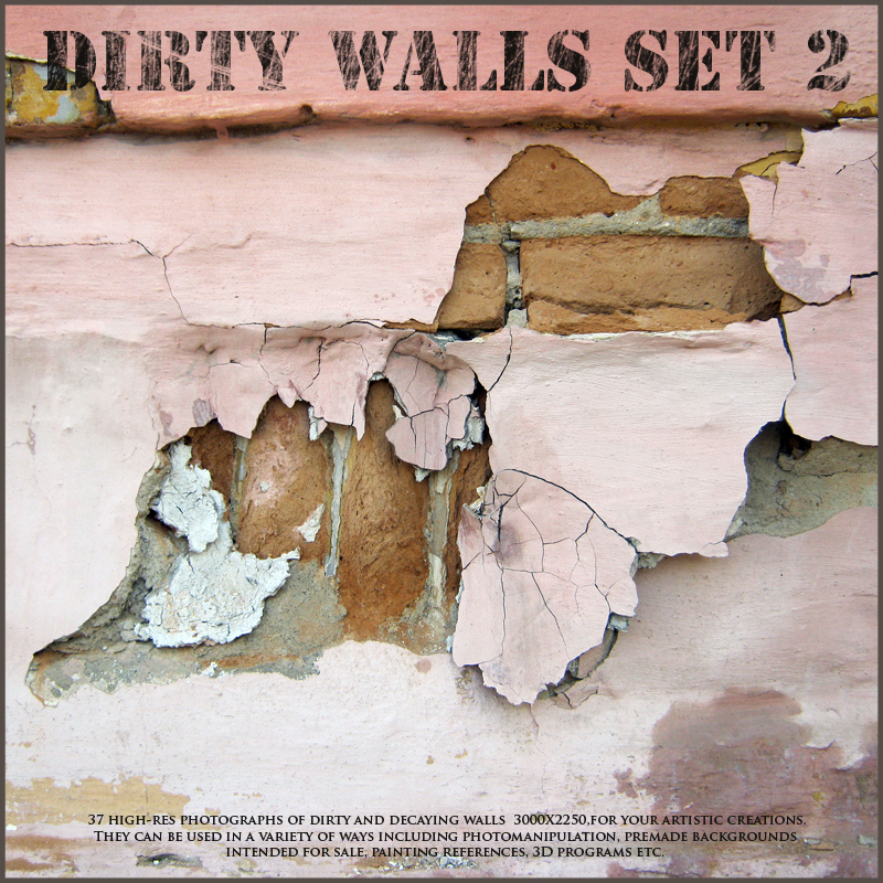 Dirty Walls Set 2