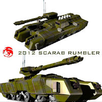 2012 Scarab Rumbler Themed Transportation rj001