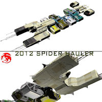 2012 Spider Hauler Themed Transportation rj001
