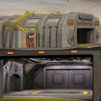 Tartaros Base Hangar Themed Props/Scenes/Architecture Nightshift3D
