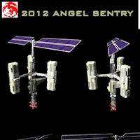 2012 Angel Sentry 3D Models rj001