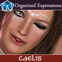 Caelis 173 Organized Expressions Themed Poses/Expressions Software EmmaAndJordi