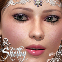 PS-Shelby for V4 3D Figure Assets pixeluna
