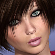 FW Cheryl for Victoria 4 Plus Hair Bonus by FWArt