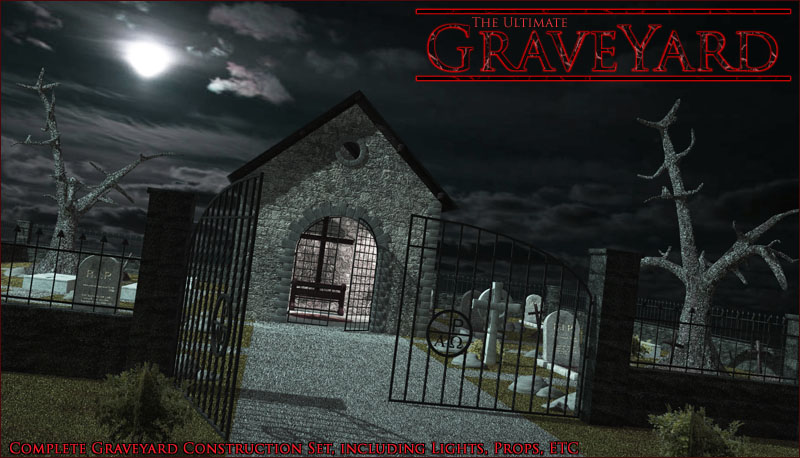 Ultimate Graveyard Construction Set by 3-d-c