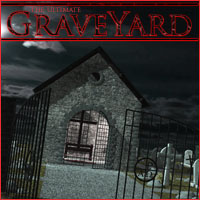 Ultimate Graveyard Construction Set 3D Models 3D Figure Assets 3-d-c
